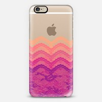 Sunset Ombre Lace Layers iPhone 6 case by Organic Saturation | Casetify