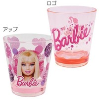 Barbie/ barbie ◎ color crystal cup (glass )☆ fancy goods mail order ☆ / cinema collection)