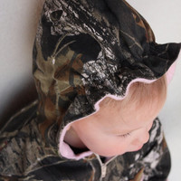 Girls coat, baby girl camo, MossyOak BU, fleece