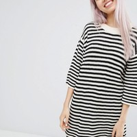 Monki | Monki Oversized Striped Sweater at ASOS