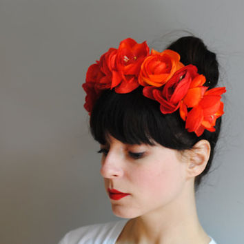 Frida floral headband by CIAO NINA