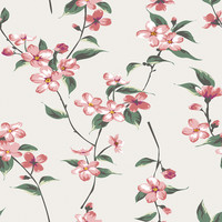 In Bloom Removable Wallpaper