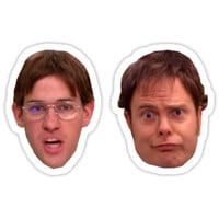 jim dwight - great as sticker pack or skirt or leggings or anything u desire by heckno