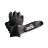 Platinum Gel Lifting Gloves w- Wrist Wraps 10in 11in (X-Large)