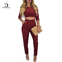 Plus Size Jumpsuits and Rompers For Women 2016 New Arrivals Long Sleeve Two pieces set outfits Sexy Body suit Women Jumpsuits