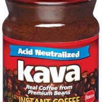 Kava Instant Coffee, 4-Ounce Glass Jars (Pack of 3)
