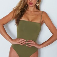 All About You Bodysuit Olive