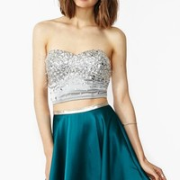 In Your Dreams Skirt - Teal