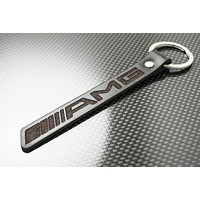 Leather Keychain for Mercedes-Benz AMG
