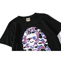 BAPE Fashion Casual Pattern Print T-Shirt
