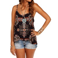 Navy Tribal Tank
