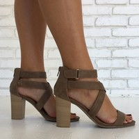 Jada Heels in Walnut