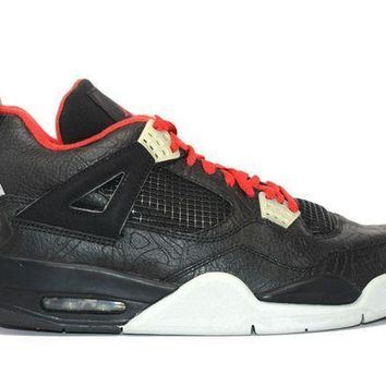 Air Jordan 4 Retro Rare Air Laser Basketball Shoes <>