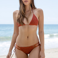 ROVE SWIMWEAR - Dewi Top | Terracotta