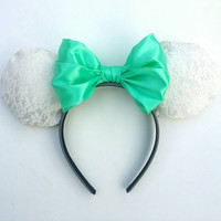 White lace Minnie ears