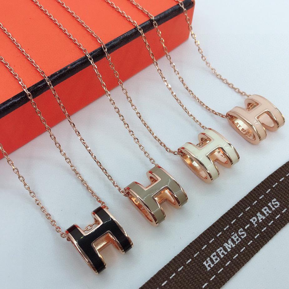 Image of Hermes Fashion Necklace Accessories Jewelry
