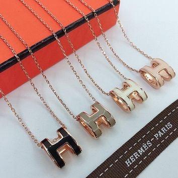 Hermes Fashion Necklace Accessories Jewelry