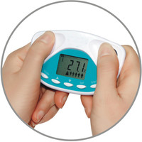 Digital LCD Body Fat Analyzer Health Monitor BMI Meter Weight Loss Tester scale Calculator Health care beauty assistant