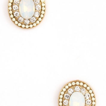 Michigan Avenue Studs in Ivory