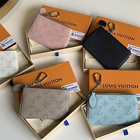 Louis Vuitton LV High Quality Fashion Leather Purse Wallet