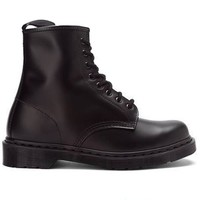 Dr. Martens 1460 - 1460W 8-Eye Mono - Black Lace-Up Boot