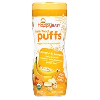 Happy Baby Organic Banana Puffs - 2.1oz