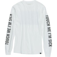 KR3W Touch Me I'm Sick T-Shirt - Long-Sleeve - Men's White,