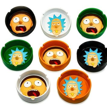 Silicone 3D R&M Character Ashtray