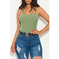 Ray Of Sunshine Top Green