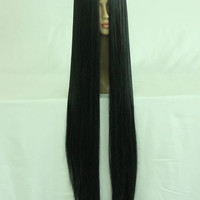 40 inches Black Cosplay Wig Straight