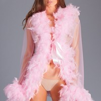 Be Wicked Sexy Lingerie BW834SCP Lux Robe