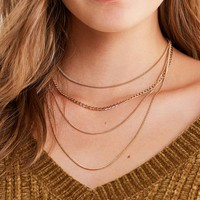 8 Other Reasons Sunrise Chain Layering Necklace | Urban Outfitters