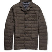 Canali - Rain & Wind Tech Quilted Down-Filled Jacket | MR PORTER