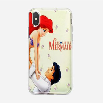 Little Mermaid And Prince iPhone X Case