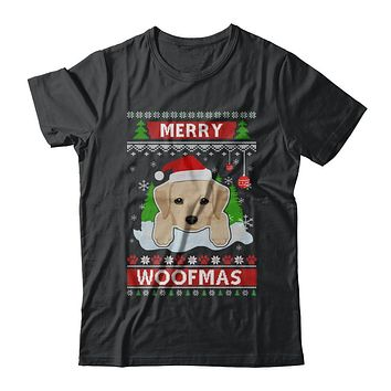 Labrador Merry Woofmas Ugly Christmas Sweater