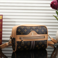 Louis Vuitton Women Leather Purse Bag Single-Shoulder Bag Crossbody