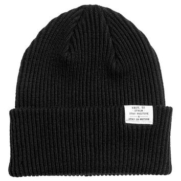 Rib-knit hat - Black - Ladies | H&M GB