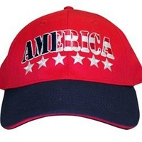 America Stars and Stripes Hat