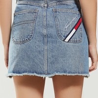 Tommy Jeans Denim Mini Skirt | Urban Outfitters
