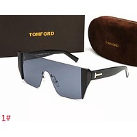Tom Ford Stylish Women Men Personality Summer Sun Shades Eyeglasses Glasses Sunglasses 1# Grey I-ZXJ