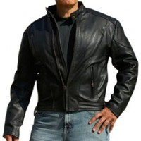 Interstate Leather Men's Touring Jacket (XX-Large)