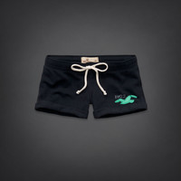 Hollister Low Rise Athletic Short-Shorts