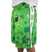 Luck Of The Irish Lacrosse Shorts | Lacrosse Unlimited
