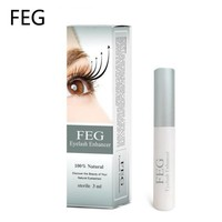 New Brand FEG Eyelash Growth Treatments Chinese Herbal Powerful Makeup Liquid Serum Enhancer Eye Lash Longer Thicker 3ml