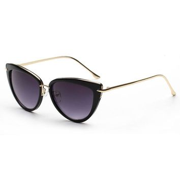 Metal Fashion Cats Sunglasses [6047227329]