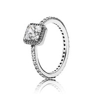 PANDORA Timeless Elegance Ring, Clear Cubic Zirconia