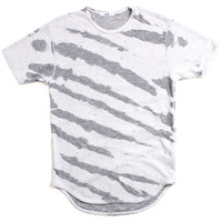 Burn Out Original Long T-Shirt Tiger Grey
