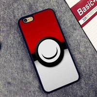 s Go Pocket Monsters Pikachue Pokeball Soft Silicone Full Protective case Cover For iPhone X 8 7 7Plus 6 6S Plus 5 5S SEKawaii Pokemon go  AT_89_9