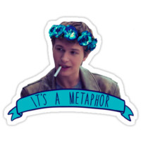 augustus waters - metaphor