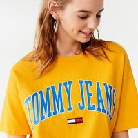 Tommy Hilfiger Collegiate Crew-Neck Tee | Urban Outfitters